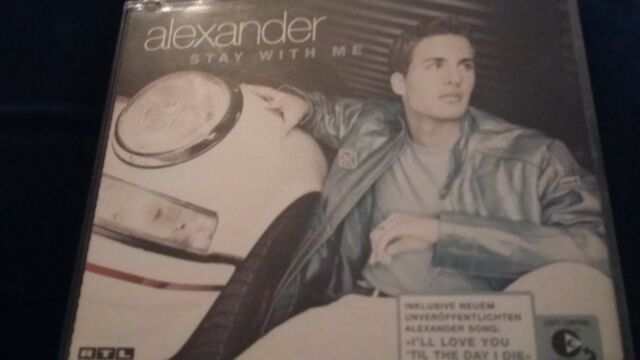 Alexander - stay with me - CD - Maxi