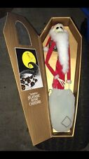 "17"" Santa Jack Disney Nightmare Before Christmas Jun Planning Gold Coffin"
