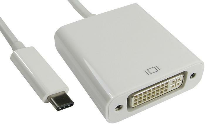 ADAPTER USB TYPE C MALE - DVI FEMALE Computer Products USB3C-DVICAB PACK 1
