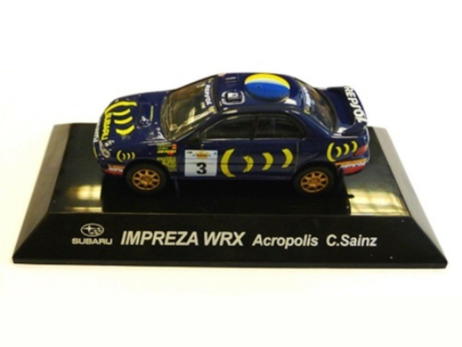 WOW EXTREMELY RARE Subaru Impreza 1994 555 Sainz Acropolis WRC 1 64 CM's Kyosho