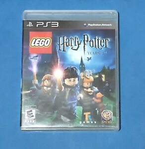 LEGO-HARRY-POTTER-YEARS-1-4-PS3-PLAYSTATION-3-MANUAL-COMPLETE-FREE-SHIPPING