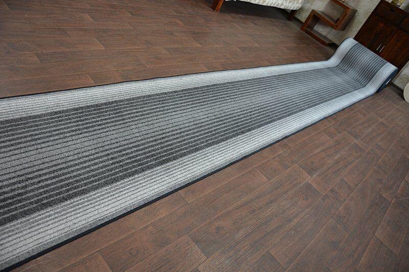 Épais Chemin de de de Table Tapis Capitole Gris Moderne Anti-dérapant Escaliers | Conception Habile  f47246
