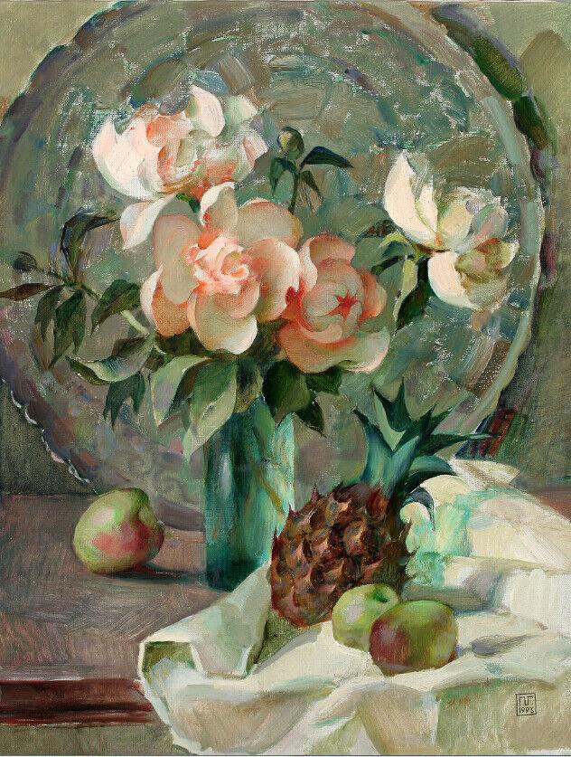 Papel Pintado Mural De Vellón Pineapple Gardenia Flor Y Pineapple Vellón 2 Paisaje Fondo Pantalla a01a40