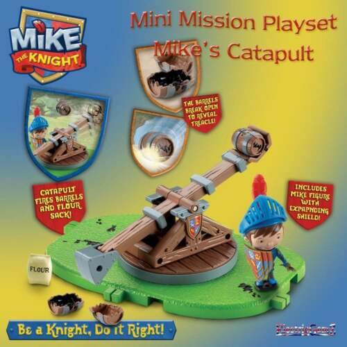 Mike the Knight Mini mission playset-Mike/'s Catapult inc figure avec bouclier