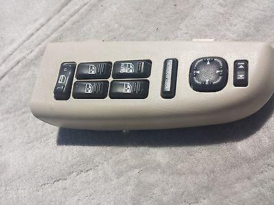 00-02 CHEVY TAHOE SUBURBAN GMC YUKON DRIVER SIDE MASTER POWER WINDOW SWITCH