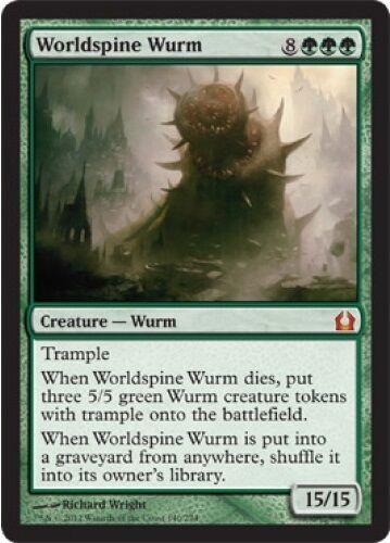 Wurm mondéchine-worldpsine wurm-magic-mtg