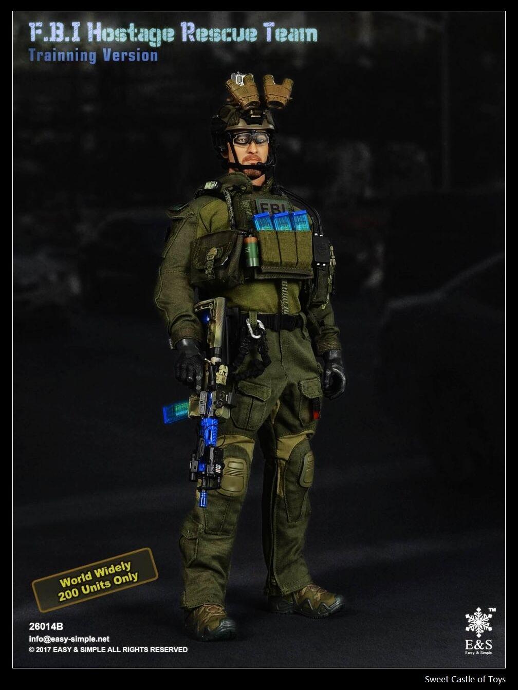 1 6 easy&simple ES FBI Hostage Rescue SQUADRA Trainning LIMITATO VERSIONE 26014b