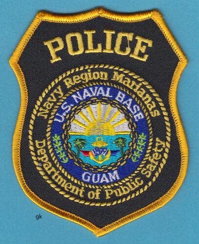 US NAVY MARIANAS NAVAL BASE GUAM DPS  POLICE SHOULDER PATCH
