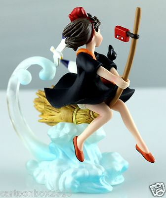 GHIBLI Movie COLLECTION Kiki's Delivery Service jiji-cat Scene Figure