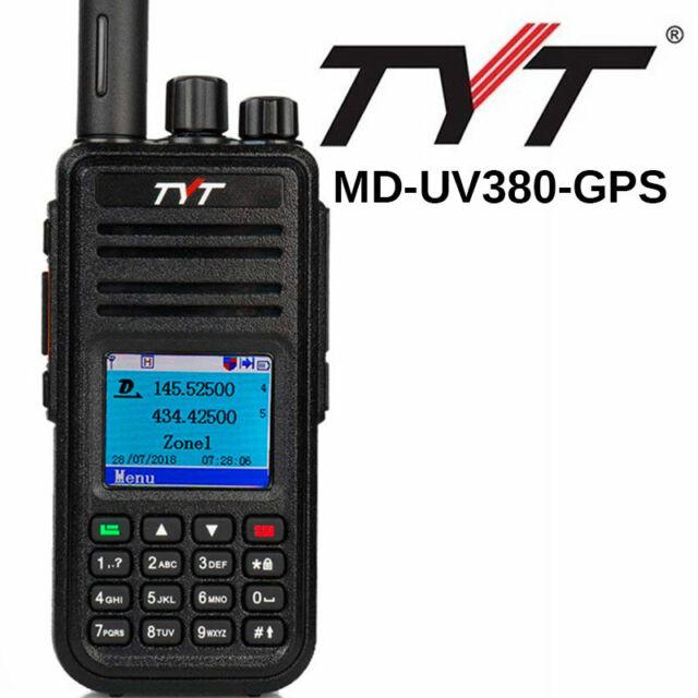 TYT MD-UV380 GPS Doble Banda 144&430MHz DMR Digital/Analogico