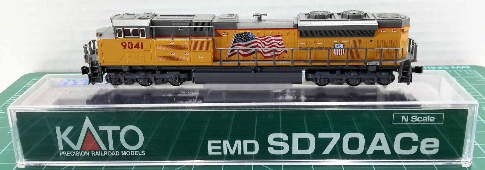 Escala N Kato SD70ACe Union Pacific 'Road  9041 Dcc Listo artículo  176-8520