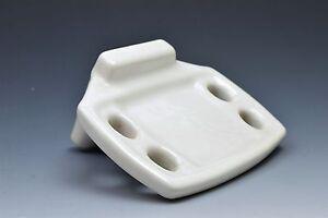 Image Is Loading Vintage Porcelain Wall Mount Toothbrush Holder Soap Dish