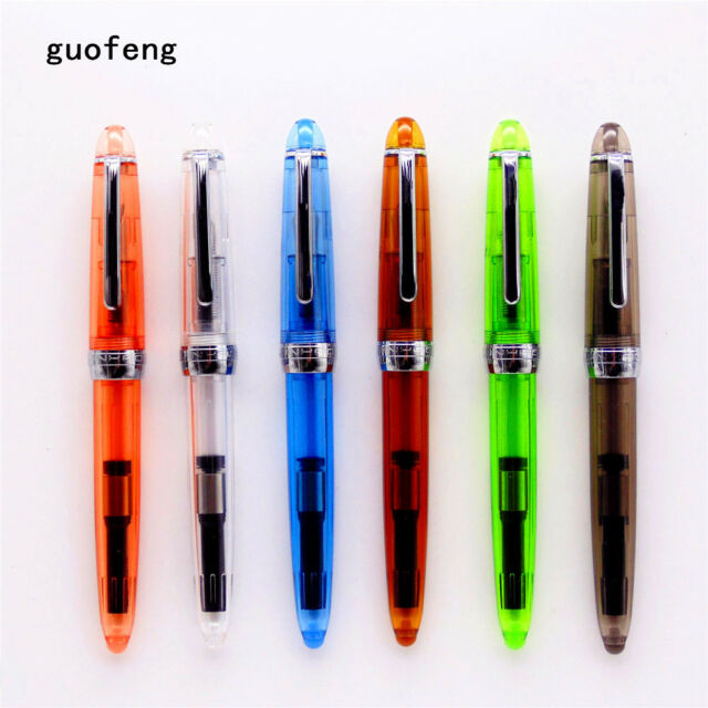 Jinhao 992 Spiral round Business office Student school Fine nib Fountain Pen New