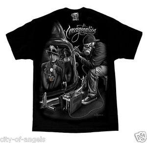 Authentic-DGA-David-Gonzales-Art-Imagination-Lowrider-Al-Capone-Mafioso-T-Shirt