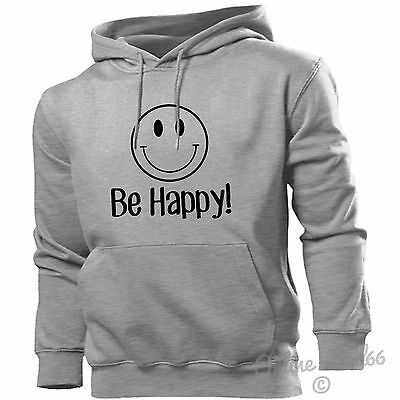 2019 Neuer Stil Smile Be Happy Hoodie Men Women Kids Funny Don't Worry Diversifiziert In Der Verpackung