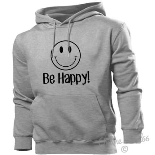 Smile Be Happy Hoodie Men Women Kids Funny Don/'t Worry