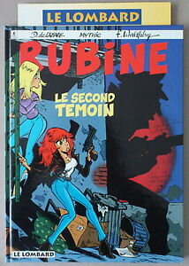 Walthery-RUBINE-n-3-LE-SECOND-TEMOIN-EO-1995-FLYER-NOUVEAUTES