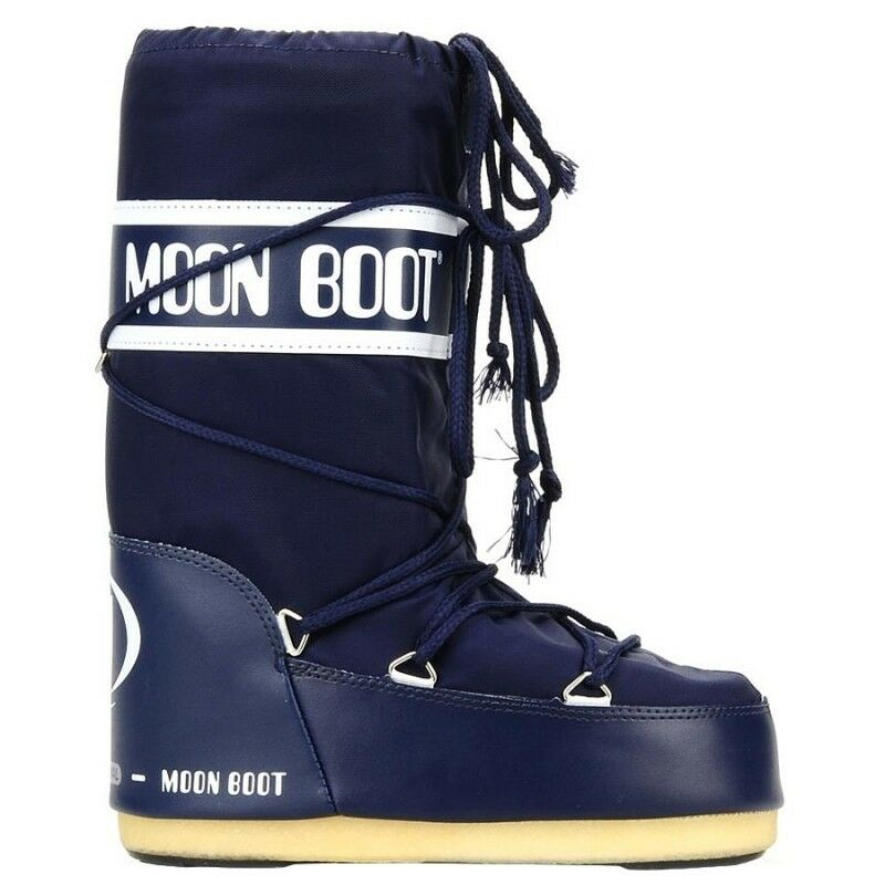 Moon Boot  NYLON blue blue mod. 1400-002  offering 100%