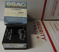 Ssac Part Sir1b20a4 Solid State Relay-iso