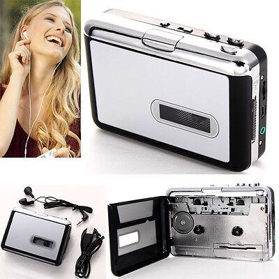 Cassette Tape to USB PC MP3 Converter Adapter Audio Capture Music Player Walkman