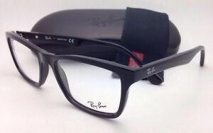 2b2d3f291c9 New RAY-BAN Eyeglasses RB 5279 2000 53-18 145 Black Square Frames w ...