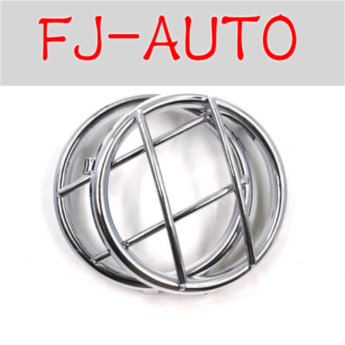 Universal 2 Pcs Oxidized Iron Sliver Front Turn Light Signal Cover for 2016 JK