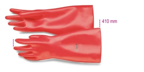 410 mm Beta Tools 1995Mq//G1-Insulating Gloves In Latex 9 Gr