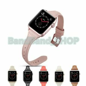 Genuine-Leather-women-Strap-Watch-Band-for-Apple-Watch-Series-3-2-1-38mm-42mm