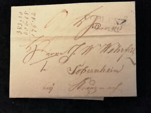 Vorphilatelie-Altdeutschland-1823-Brief-Faltbrief-Coblenz-Nr-12