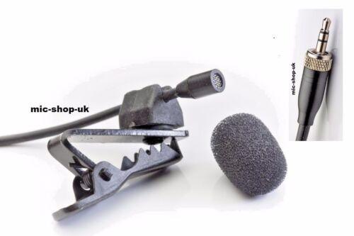 Discreet Lavalier Tie Clip Lapel Discrete Microphone Compatible for Trantec