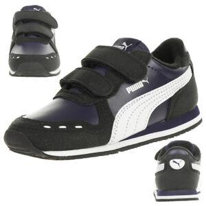 Details zu PUMA Cabana Racer SL V Inf Kinder Sneaker Klettverschluss Blau 351980