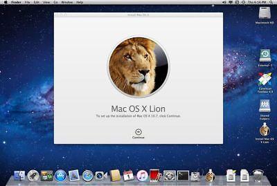 mac os x lion 10.8_Apple Mac OS X Lion Version 10.7 Starter Disk Disquette DVD Bootable | eBay