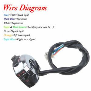 Motorcycle Handlebar Switch Wiring Diagram - Wiring Diagram on