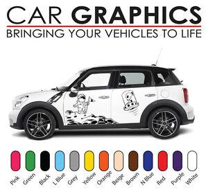 Mini Car Graphics Number Decals Stickers Cooper Vinyl Design Mn7 Ebay