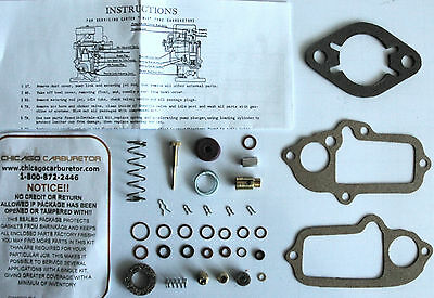 1937 CARB KIT STUDEBAKER CARTER W1-1 BARREL ETHANOL TOLERANT NEW