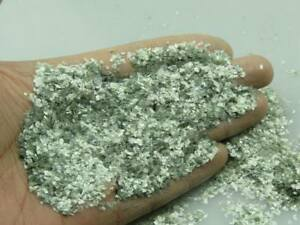 6-10 Mesh Natural Mineral White Mica Muscovite Powder DIY Soap Specimen Healing