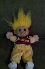 Big Russ Troll  NFL Washington Redskins Plush Toy Doll Vtg Rare