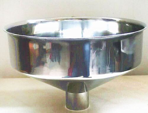 Stainless Steel industrial Large Funnel,Wide Mouth Jar kitchen supplies grinding