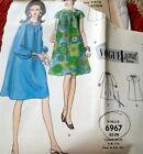 RARE VTG 1960s DRESS VOGUE SPECIAL DESIGN Sewing Pattern 12/32 FF