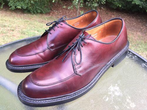 Allen Edmonds Brentwood Men's Size 10 B  Burgundy