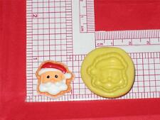 Christmas Santa Face Silicone Push Mold A680 For Chocolate Craft Candy Fondant