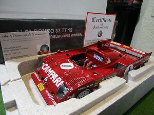 ALFA-ROMEO-33-TT-12-1-NURBURGRING-de-1975-au-1-18-AUTOART-87505-voiture-miniatu