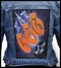 KAT - 666  --- Giant Backpatch Back Patch
