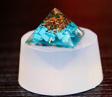 Clear silicone Pyramid jewelry ,art,craft Molds, Diameter 25mm. (1-20)