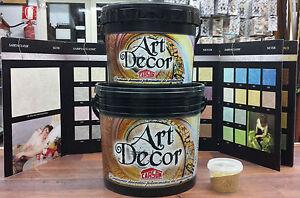 Pittura decorativa sabbiato perlato fondo per 4x4mq for Pittura vento di sabbia