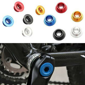 Anodized Arm Fixing Bolt Bike Bicycle Crank Chainset Screw Axis For Shimano PR