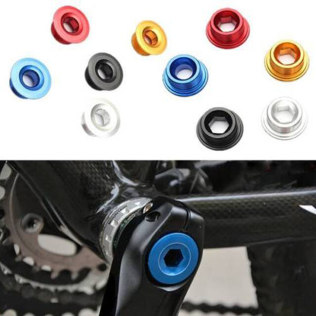 Unique Anodized Arm Fixing Bolt Bicycle Crank Chainset Screw Axis for Shimano*sh