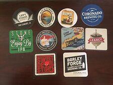 10 Coasters From Various Breweries - Craft Beer - Brewery