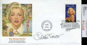 Claire-Trevor-Jsa-Certed-Hand-Signed-Fdc-Authenticated-Autograph