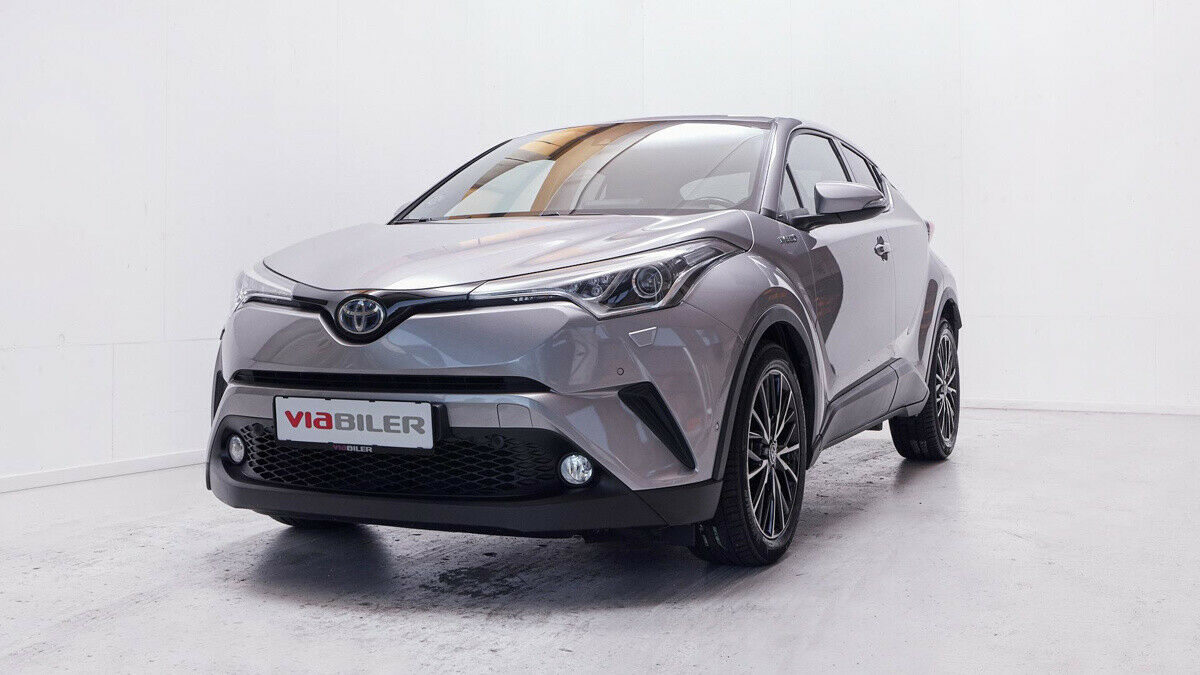 Toyota C-HR 1,8 Hybrid C-HIC CVT 5d - 209.800 kr.